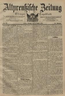 Altpreussische Zeitung, Nr. 243 Sonntag 16 Oktober 1898, 50. Jahrgang