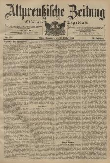 Altpreussische Zeitung, Nr. 254 Sonnabend 29 Oktober 1898, 50. Jahrgang