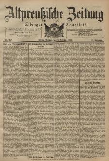 Altpreussische Zeitung, Nr. 257 Mittwoch 2 November 1898, 50. Jahrgang