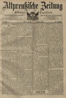 Altpreussische Zeitung, Nr. 265 Freitag 11 November 1898, 50. Jahrgang