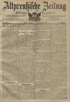Altpreussische Zeitung, Nr. 266 Sonnabend 12 November 1898, 50. Jahrgang