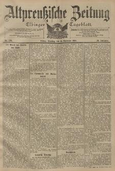 Altpreussische Zeitung, Nr. 268 Dienstag 15 November 1898, 50. Jahrgang