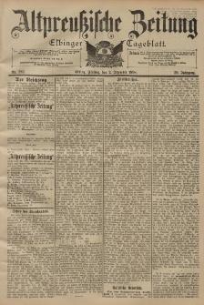 Altpreussische Zeitung, Nr. 282 Freitag 2 Dezember 1898, 50. Jahrgang