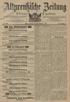 Altpreussische Zeitung, Nr. 300 Freitag 23 Dezember 1898, 50. Jahrgang