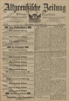 Altpreussische Zeitung, Nr. 302 Sonntag 25 Dezember 1898, 50. Jahrgang
