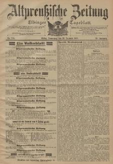 Altpreussische Zeitung, Nr. 304 Donnerstag 29 Dezember 1898, 50. Jahrgang