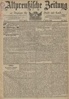 Altpreussische Zeitung, Nr. 1 Freitag 1 Januar 1892, 44. Jahrgang
