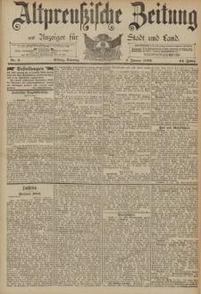 Altpreussische Zeitung, Nr. 2 Sonntag 3 Januar 1892, 44. Jahrgang