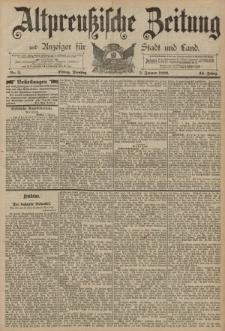 Altpreussische Zeitung, Nr. 3 Dienstag 5 Januar 1892, 44. Jahrgang