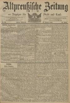 Altpreussische Zeitung, Nr. 10 Mittwoch 13 Januar 1892, 44. Jahrgang