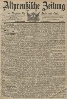 Altpreussische Zeitung, Nr. 17 Donnerstag 21 Januar 1892, 44. Jahrgang