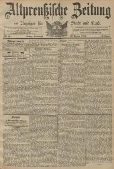 Altpreussische Zeitung, Nr. 19 Sonnabend 23 Januar 1892, 44. Jahrgang