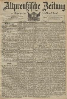 Altpreussische Zeitung, Nr. 54 Freitag 4 März 1892, 44. Jahrgang