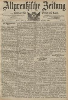 Altpreussische Zeitung, Nr. 64 Mittwoch 16 März 1892, 44. Jahrgang