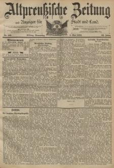 Altpreussische Zeitung, Nr. 105 Donnerstag 5 Mai 1892, 44. Jahrgang