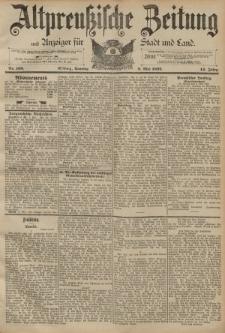 Altpreussische Zeitung, Nr. 108 Sonntag 8 Mai 1892, 44. Jahrgang