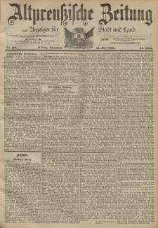 Altpreussische Zeitung, Nr. 112 Sonnabend 14 Mai 1892, 44. Jahrgang
