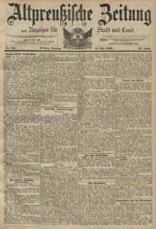 Altpreussische Zeitung, Nr. 113 Sonntag 15 Mai 1892, 44. Jahrgang