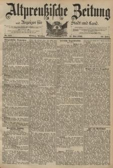 Altpreussische Zeitung, Nr. 114 Dienstag 17 Mai 1892, 44. Jahrgang