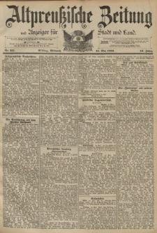 Altpreussische Zeitung, Nr. 115 Mittwoch 18 Mai 1892, 44. Jahrgang