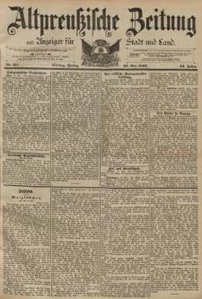 Altpreussische Zeitung, Nr. 117 Freitag 20 Mai 1892, 44. Jahrgang