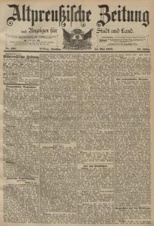 Altpreussische Zeitung, Nr. 120 Dienstag 24 Mai 1892, 44. Jahrgang