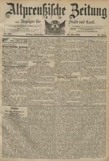 Altpreussische Zeitung, Nr. 122 Donnerstag 26 Mai 1892, 44. Jahrgang