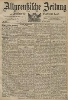 Altpreussische Zeitung, Nr. 123 Sonnabned 28 Mai 1892, 44. Jahrgang