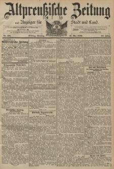 Altpreussische Zeitung, Nr. 125 Dienstag 31 Mai 1892, 44. Jahrgang