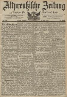 Altpreussische Zeitung, Nr. 131 Mittwoch 8 Juni 1892, 44. Jahrgang