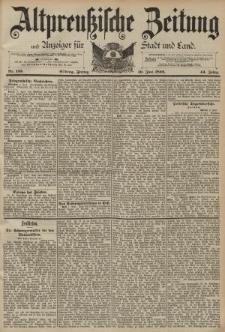 Altpreussische Zeitung, Nr. 133 Freitag 10 Juni 1892, 44. Jahrgang