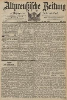 Altpreussische Zeitung, Nr. 143 Mittwoch 22 Juni 1892, 44. Jahrgang
