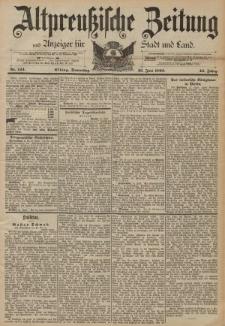 Altpreussische Zeitung, Nr. 144 Donnerstag 23 Juni 1892, 44. Jahrgang