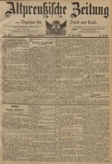 Altpreussische Zeitung, Nr. 165 Sonntag 17 Juni 1892, 44. Jahrgang
