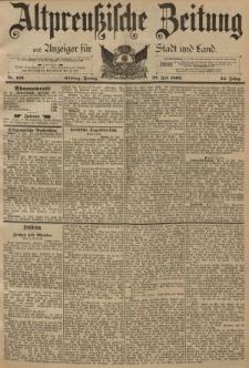 Altpreussische Zeitung, Nr. 169 Freitag 22 Juni 1892, 44. Jahrgang