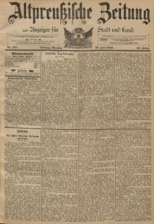 Altpreussische Zeitung, Nr. 172 Dienstag 26 Juni 1892, 44. Jahrgang