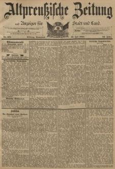 Altpreussische Zeitung, Nr. 176 Sonnabend 30 Juni 1892, 44. Jahrgang
