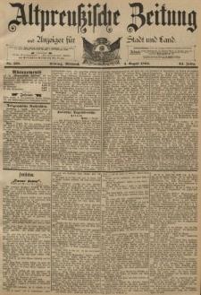 Altpreussische Zeitung, Nr. 179 Mittwoch 3 August 1892, 44. Jahrgang
