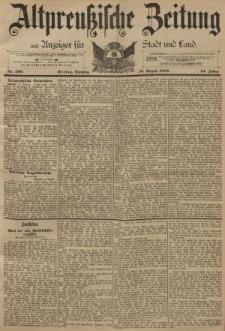 Altpreussische Zeitung, Nr. 190 Dienstag 16 August 1892, 44. Jahrgang