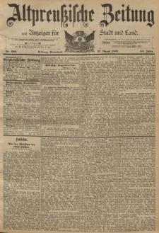 Altpreussische Zeitung, Nr. 200 Sonnabend 27 August 1892, 44. Jahrgang