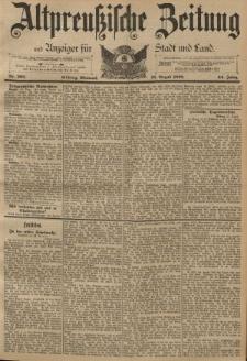 Altpreussische Zeitung, Nr. 203 Mittwoch 31 August 1892, 44. Jahrgang