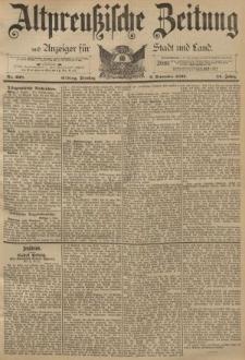 Altpreussische Zeitung, Nr. 208 Dienstag 6 September 1892, 44. Jahrgang