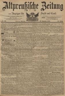 Altpreussische Zeitung, Nr. 227 Mittwoch 28 September 1892, 44. Jahrgang