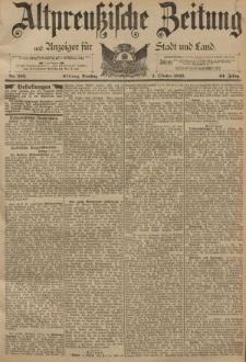 Altpreussische Zeitung, Nr. 232 Dienstag 4 Oktober 1892, 44. Jahrgang