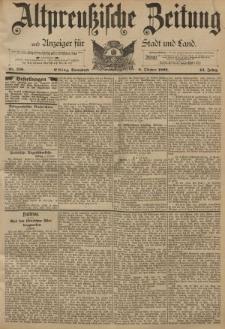 Altpreussische Zeitung, Nr. 236 Sonnabend 8 Oktober 1892, 44. Jahrgang