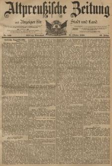 Altpreussische Zeitung, Nr. 242 Sonnabend 15 Oktober 1892, 44. Jahrgang