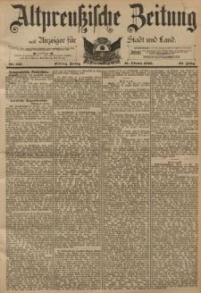 Altpreussische Zeitung, Nr. 247 Freitag 21 Oktober 1892, 44. Jahrgang