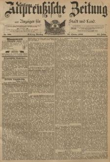 Altpreussische Zeitung, Nr. 250 Dienstag 25 October 1892, 44. Jahrgang
