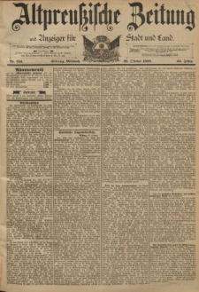 Altpreussische Zeitung, Nr. 251 Mittwoch 26 Oktober 1892, 44. Jahrgang