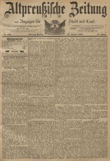 Altpreussische Zeitung, Nr. 253 Freitag 28 Oktober 1892, 44. Jahrgang
